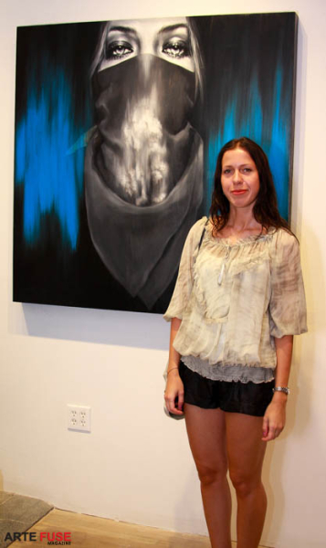 Artist Zofia Bogusz