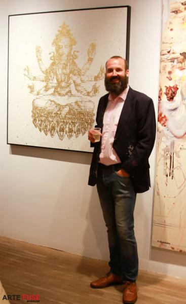 Artist David Hollier