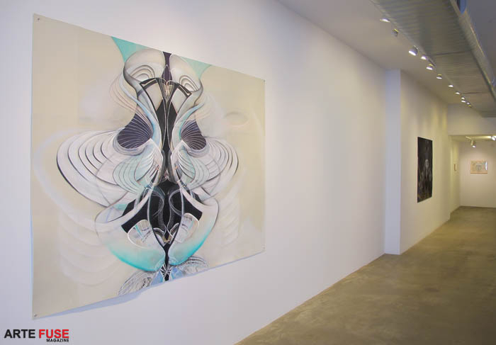 Amy Myers Spectral Bond, Light as Spiral at McKenzie Fine Art (1)