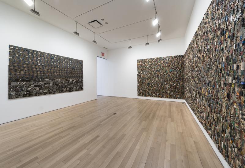 Elias Sime at James Cohan Gallery 5