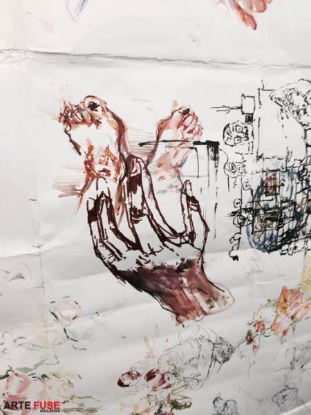 Judy Glantzman at betty cunningham gallery (2)