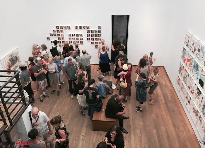 Judy Glantzman at betty cunningham gallery (5)