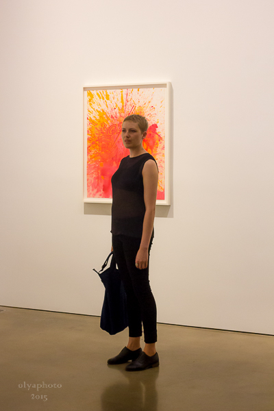 a Gallery Girl in Chelsea at Paula Cooper