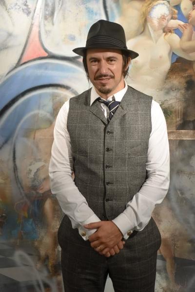 Artist Peter Daverington