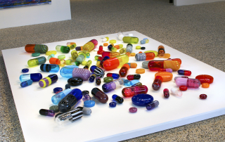 Health, exhibition in the Chrysler Museum of Art Glass Project