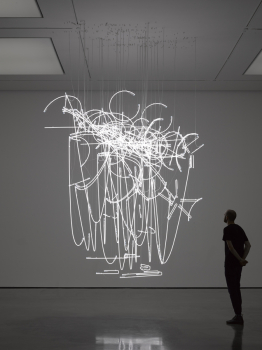 Cerith Wyn Evans Neon Forms (after Noh I) 2015 1