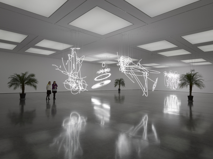 Cerith Wyn Evans Solo exhibition White Cube Bermondsey London 22 September - 15 November 2015 2