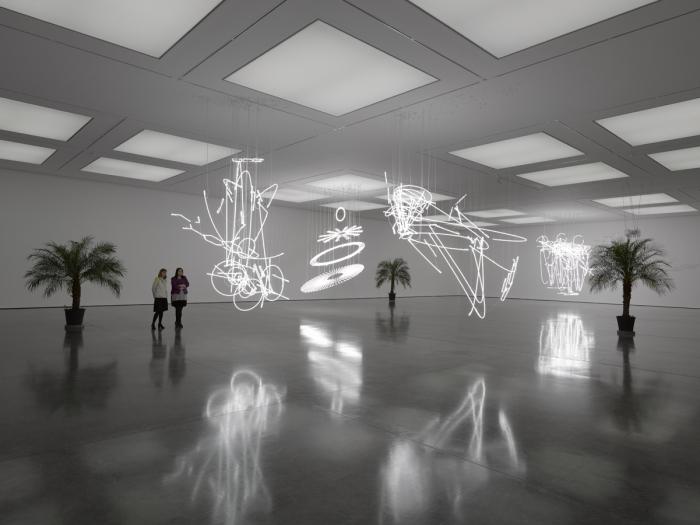 Cerith Wyn Evans Solo exhibition White Cube Bermondsey London 22 September - 15 November 2015 2