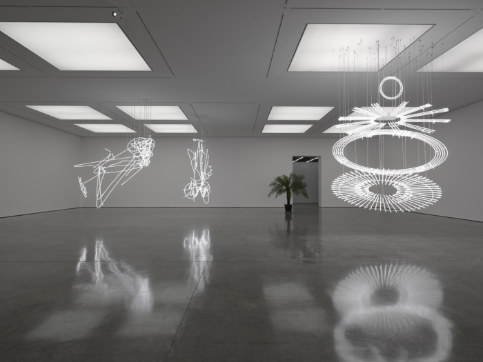 Cerith Wyn Evans Solo exhibition White Cube Bermondsey London 22 September - 15 November 2015