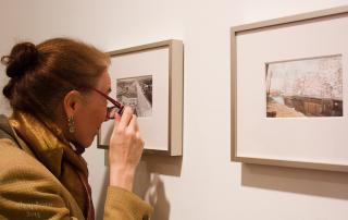 Close examination of the art