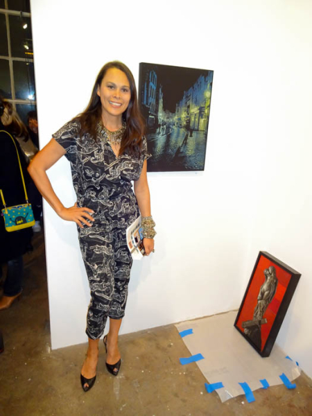 Curator Natalie Kates