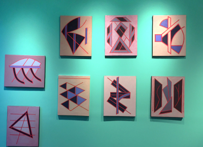 JHT 1990-2015 Installation view Red Constellations