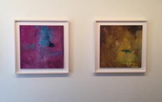"Left: Of Milk II, 2015, archival light jet print, 32"" x 32"" Right: Of Milk III, 2015, archival light jet print, 32"" x 32"""