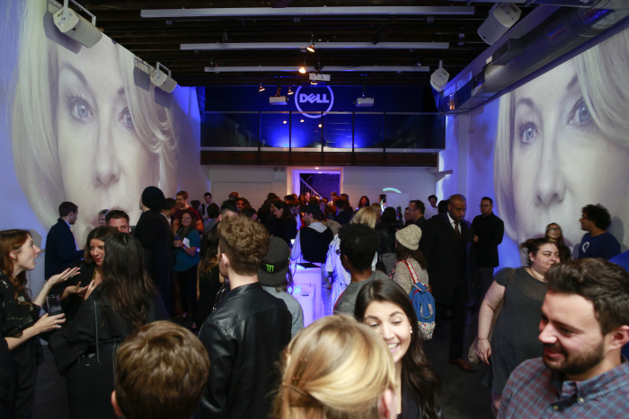 Atmosphere at the Dell XPS launch celebration at Lightbox Studio on Thursday, October, 8 2015 in New York. (Mark Von Holden/AP Images for Dell)