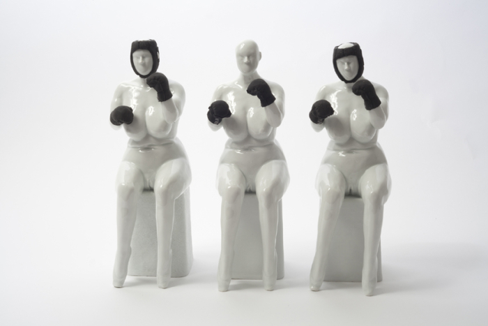 Nadine Wottke, aber Mutter!, porcelain, latex, ca. 33 x 60 x 25 cm, Edition of 5 + 2AP. 1/5, 2012, courtesy the artist
