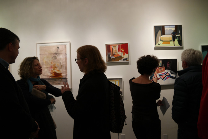 """Opening of """"Life or Something Like It"""" at Molly Krom, curated by Molly Merson"""