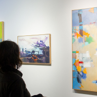 AbEx to the MAX at Denise Bibro Fine Art