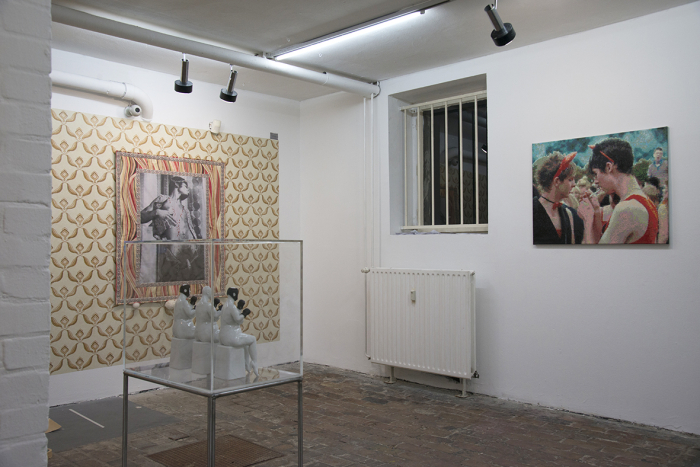 Exhibition View, You Can Feel It, curated by Jonny Star at Haus am Lützowplatz Berlin / photo © Frans Franciscus