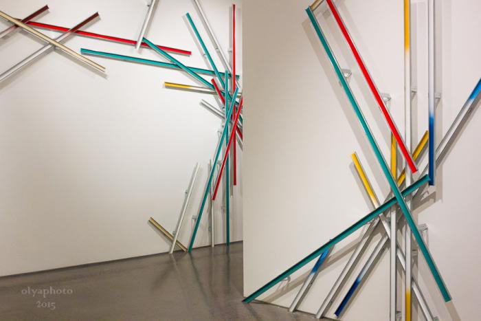Kinetic Boom on the gallery floor