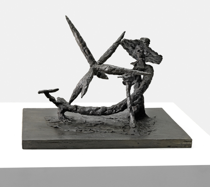 Peter Stauss, DUTCH MASTER (Nº 2), 2015, bronze, 29 x 28 x 37 cm / © The Artist and carlier | gebauer / Photography: Gunter Lepkowski