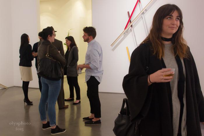 The Smart Art Set at Cristin Tierney