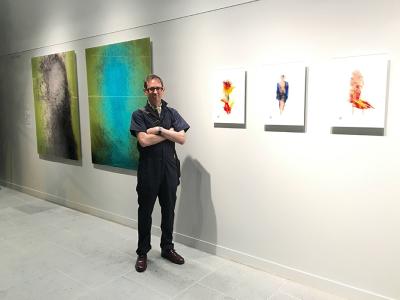 Artist Gary Kaleda
