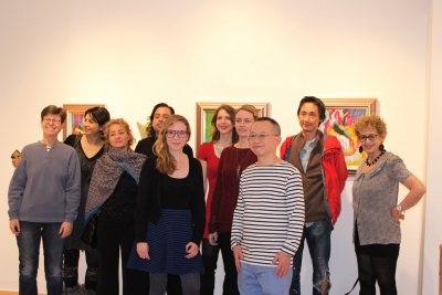 Participating artists for the second show.