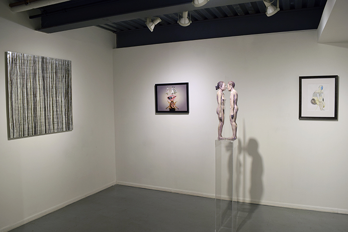 Installation shots of Anthology 2015 at Van der Plas Gallery