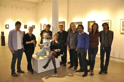 (L to R) Anne Bachelier, Colin Christian, Heidi Leigh, William Basso, Bill Common, Jean-Pierre Arbodela, Farrah Sarafa, KS Ashvin