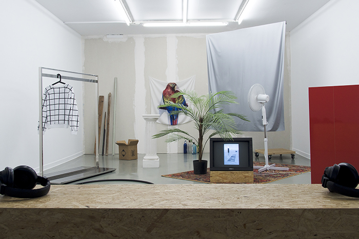 #JWIITMTESDSA? (Just what is it that makes today´s exhibitions so different, so appealing?), 2015. Multimedia installation; variable dimensions. Installation view at Generación 2015, La Casa Encendida (Madrid, Spain, 2015)