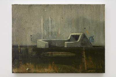 ACam-3 Viejo Fundamento (Old Basis), 2015.jpg Alejandro Campins Viejo Fundamento, 2015 oil on canvas 17 3/4 x 23 5/8 inches (45 x 60 cm) © Alejandro Campins Courtesy: Sean Kelly, New York