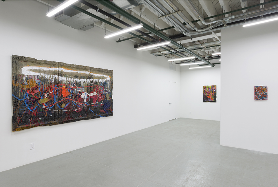 Installation shot of like·ness at Albertz Benda Gallery