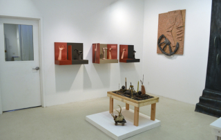 Installation view of  Excavations at Field Projects.
