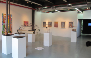 Installation view of Rattle n Hummm at Odesa gallery