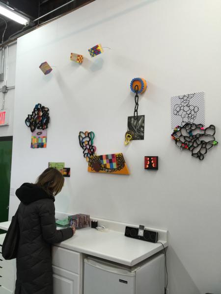 Suzan Shutan's installation courtesy Etty Yaniv
