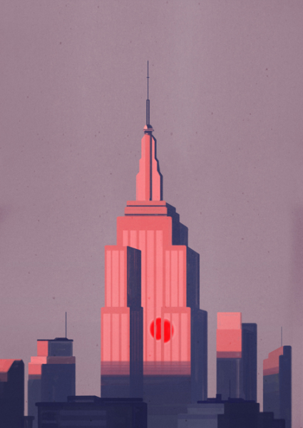 Empire State Building by Emiliano Ponzi