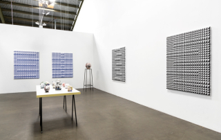 Installation view with Brian Rochefort, 2016  Richard Heller Gallery, Los Angeles