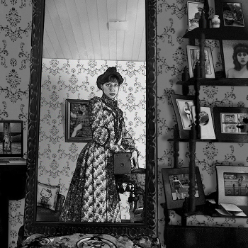 "Carla Gannis, Selfie drawing 46 ""Zelig"", 2015"