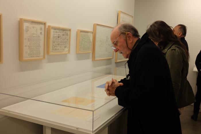 Alvin Lucier in the Lab gallery.