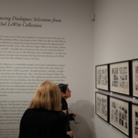 Opening night or Drawing Dialogues: Selections from