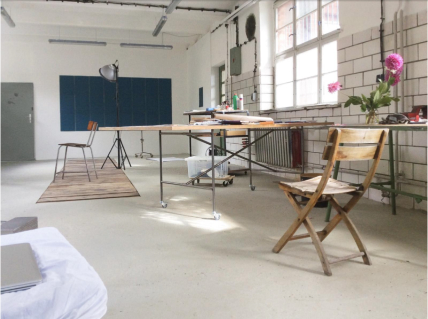 Artist studio in Berlin, Germany, on stusu.com (direct link)