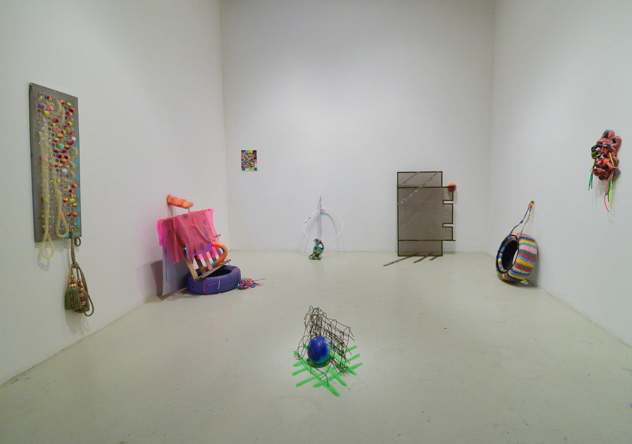 Installation View. Denise Treizman, DelanceyLudlowRivingtonNorfolk, 6 May – 5 June, 2016. Cuchifritos Gallery, New York. Photo: Bill Massey
