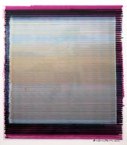 Anton Perich Elsinore , 2012 acrylic on canvas 66 x 55 in / 167.5 x 140 cm