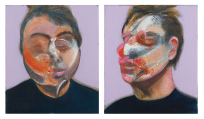 Two self-portraits by Francis Bacon