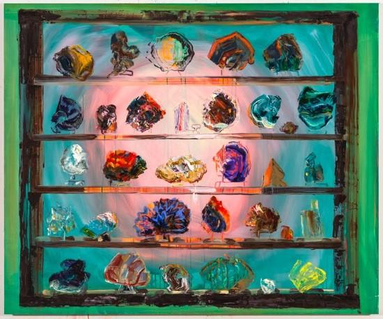 "Rachel Schmidhofer, Corporeality, 40""x48"", oil on panel, 2015"