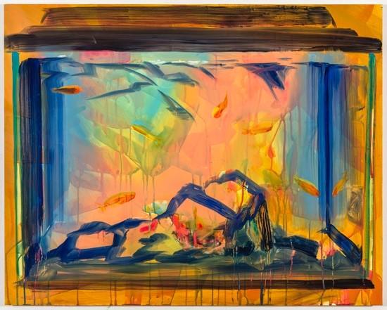 "Rachel Schmidhofer, Partly Cloudy, 24""x30"", oil on panel, 2016"