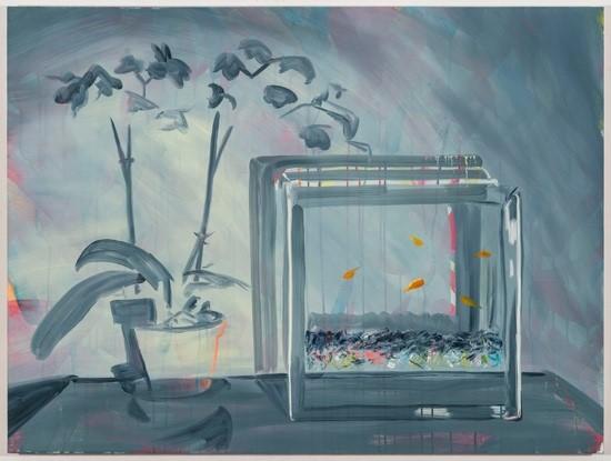 """Rachel Schmidhofer, Overcast, 30""""x40"""", oil on panel, 2016"""