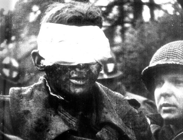 Blind German Soldier, 1945 Copyright Tony Vaccaro, Michael A Vaccaro Studio