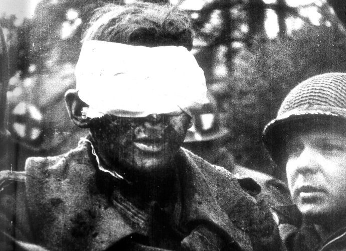 Blind German Soldier, 1945 Copyright Tony Vaccaro, Michael A Vaccaro Studio