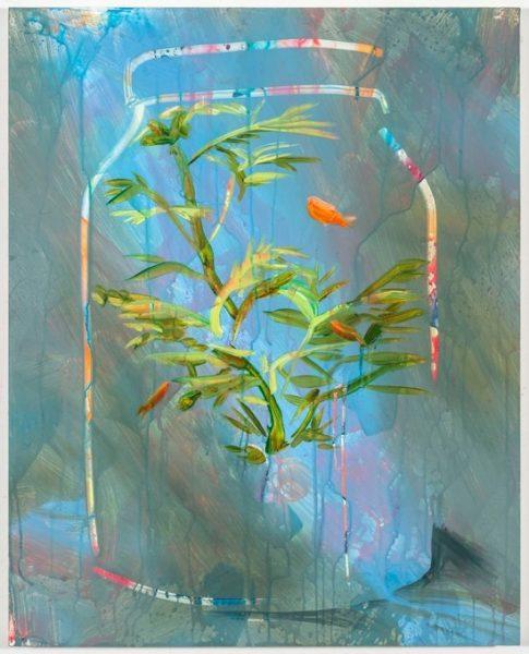 "Rachel Schmidhofer, Jar, 20""x16"", oil on panel, 2016"